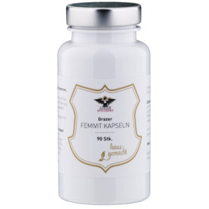 Nebenwirkungen der Pille mit den Grazer FemiVit Kapseln verringern