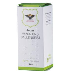 Grazer Wind- und Gallengesit gegen Blähungen