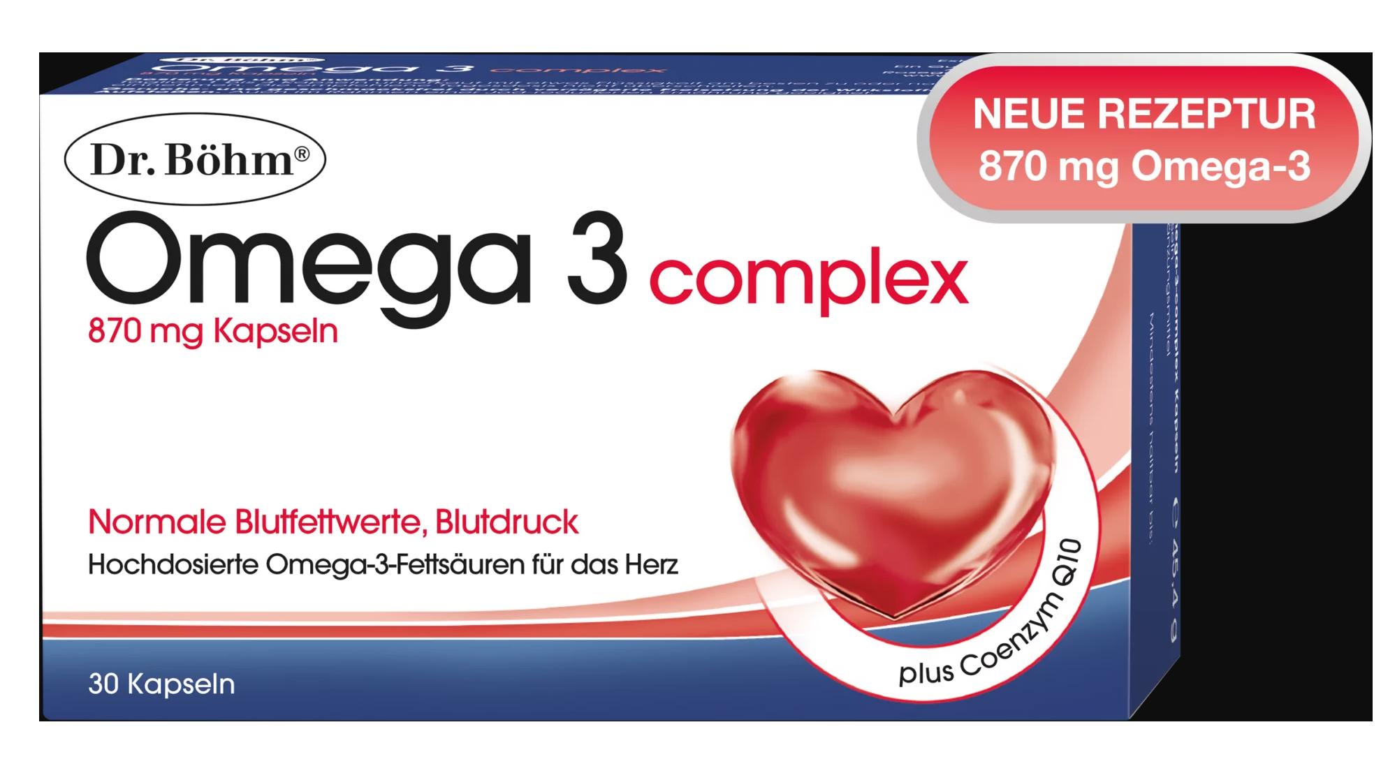 Omega 3 Kapseln Wirkung